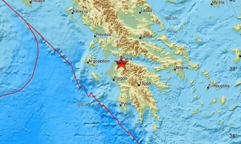 Σεισμός ΤΩΡΑ στην Πάτρα - Αισθητός στην πόλη (pics)