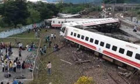Ταϊβάν: Εκτροχιασμός τρένου μέσα σε τούνελ - 36 νεκροί και δεκάδες τραυματίες