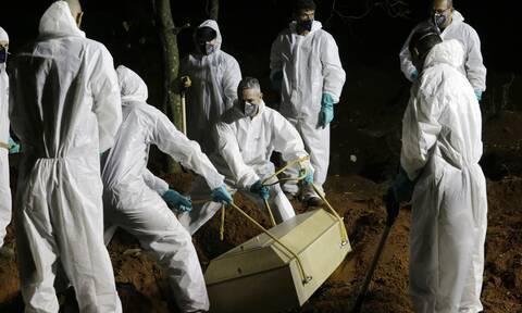 Bραζιλία: Δεν επαρκούν οι τάφοι για τους νεκρούς της πανδημίας – «Ο χειρότερος Μάρτιος της ζωής μας»