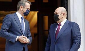 МИД Греции отметил прекрасную атмосферу на переговорах Мишустина с премьером Греции