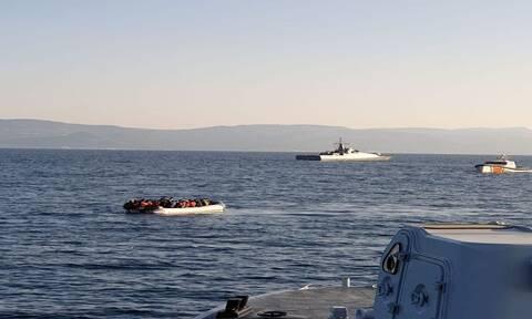 Νέα πρόκληση από την Τουρκία: Ακταιωρός παρενόχλησε σκάφος του λιμενικού – Βίντεο-ντοκουμέντο