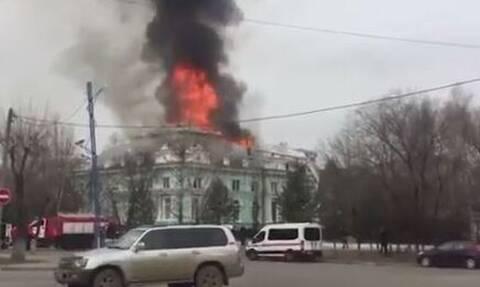 Φωτιά σε νοσοκομείο