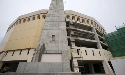 ΑΕΚ: Το τελικό σχέδιο για την Αγιά Σοφιά - H μπροστινή και η πλαϊνή όψη (photos)