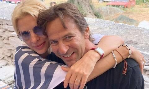 Μάκης Παντζόπουλος: Oι σπάνιες φωτογραφίες του με τη μικρή Μαρίνα