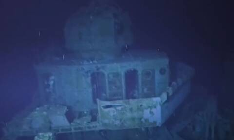 Βίντεο: Κατάδυση στο βαθύτερο γνωστό ναυάγιο του κόσμου