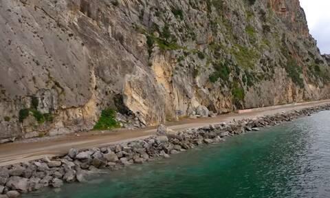 Βίντεο: Ένας από τους «πιο επικίνδυνους δρόμους της Ευρώπης» είναι στην Αττική