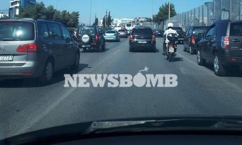 ΤΩΡΑ: Χάος στην Εθνική Οδό! Ουρές χιλιομέτρων στον Κηφισό - Δείτε τι έχει συμβεί