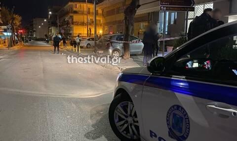 Αναστάτωση στη Θεσσαλονίκη: Άνοιξε πυρ στη μέση του δρόμου (pics)