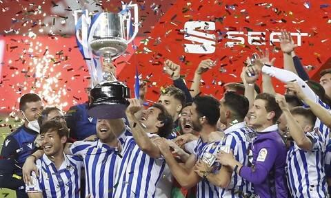 LaLiga: Κυπελλούχος η Ρεάλ Σοσιεδάδ, εύκολα η Ρεάλ Μαδρίτης – Όλα τα γκολ στην Ισπανία (videos)