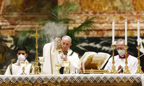 Βατικανό: Μήνυμα ελπίδας από τον πάπα Φραγκίσκο παραμονή του Καθολικού Πάσχα