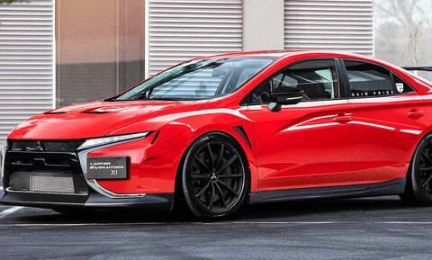 Ένα τέτοιο νέο Mitsubishi Lancer Evo θα θέλαμε
