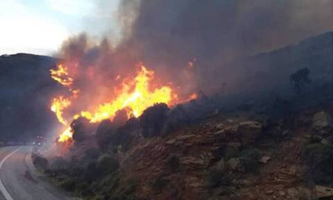 Φωτιά Άνδρος – Ρεπορτάζ Newsbomb.gr: Εκκένωση χωριών - Ανεξέλεγκτη η πυρκαγιά