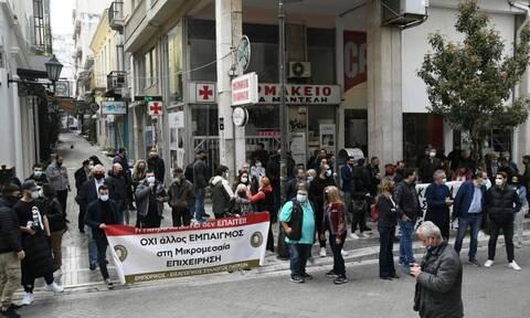 Λιανεμπόριο: STOP της Κυβέρνησης για άνοιγμα σε Πάτρα, Θεσσαλονίκη και Κοζάνη