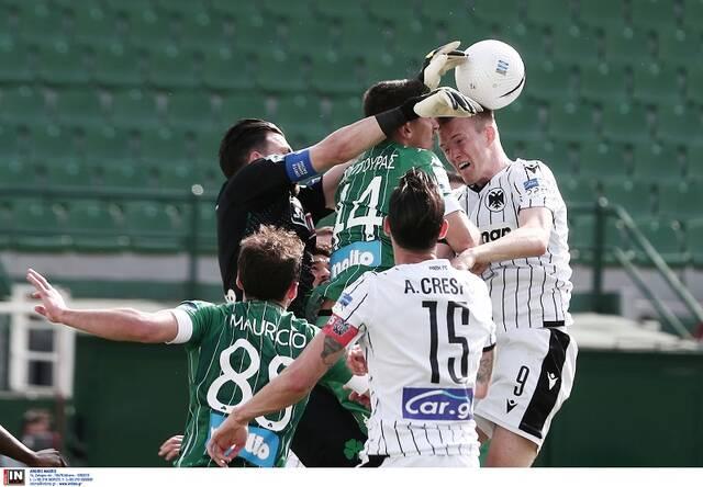 Παναθηναϊκός - ΠΑΟΚ 3-0