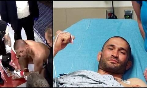Τρελός τραυματισμός στο MMA: Του κόπηκε το δάχτυλο και βγήκε ανακοίνωση για την ανεύρεσή του