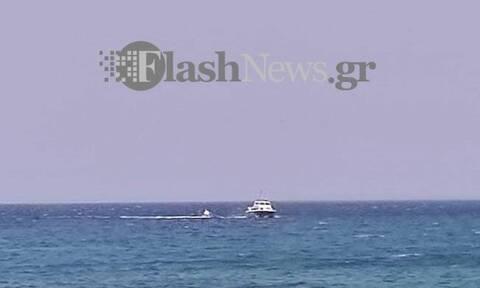 Χανιά: Περιπέτεια για ψαράδες - Κινητοποίηση του Λιμενικού (vid)