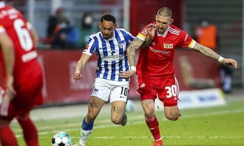 Bundesliga: Χωρίς νικητή το ντέρμπι του Βερολίνου – Όλα τα γκολ στη Γερμανία (videos)