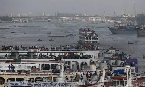 Μπανγκλαντές: Πέντε νεκροί σε ναυάγιο ferry boat