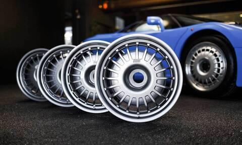 Πόσο μπορεί να πωλείται ένα σετ ζάντες μιας Bugatti;