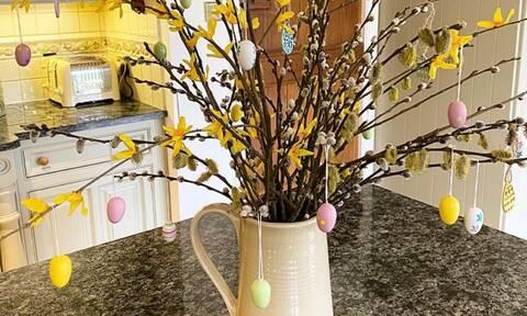 Πασχαλινό δέντρο: Ιδέες για να φτιάξετε και εσείς το δικό σας (pics)