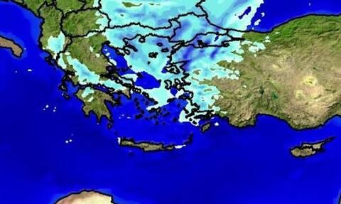 Καιρός: Προειδοποίηση Μαρουσάκη - Μετά τη ζέστη έρχονται κρύο και χιόνια (ΧΑΡΤΕΣ)
