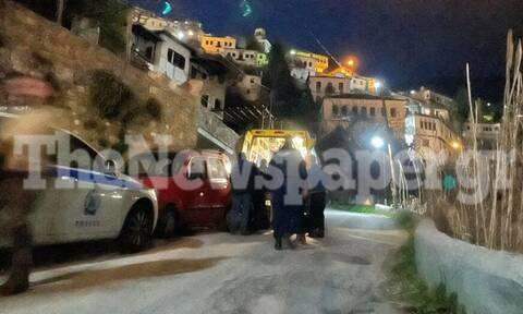 Μακρινίτσα: Συνελήφθη ο δράστης του διπλού φονικού - Οι πρώτες εικόνες από το σημείο