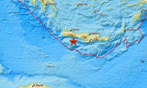 Σεισμός ανάμεσα σε Γαύδο και Κρήτη (pics)
