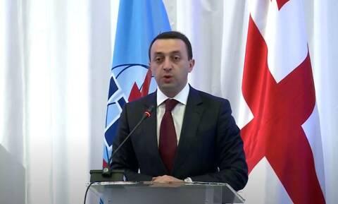 Γεωργία: Θετικός στον κορονοϊό ο πρωθυπουργός Γκαριμπασβίλι