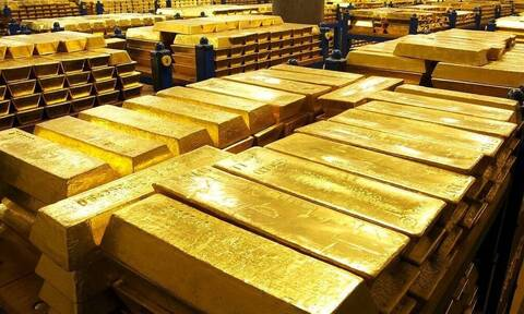Χρυσό 151 τόνων αξίας 7,4 δισ. ευρώ διαθέτει η Ελλάδα