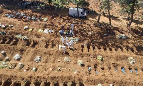 Δράμα στη Βραζιλία: Νέο τραγικό ρεκόρ 4.195 θανάτων από κορονοϊό σε 24 ώρες