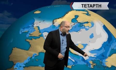 Καιρός – Προειδοποίηση Αρναούτογλου: Προσοχή στους δυτικούς ανέμους – Ποιες περιοχές αφορά