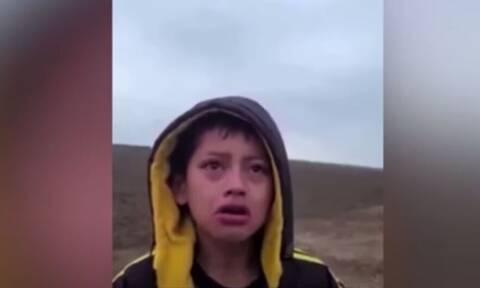 Τέξας: Η σπαρακτική κραυγή ενός παιδιού μεταναστών - «Θα μπορούσαν να με απαγάγουν, φοβάμαι» (vid)