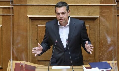 Τσίπρας σε ΕΣΕΕ: Επανεκκίνηση της οικονομίας με ρύθμιση ιδιωτικού χρέους