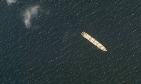 Πλοίο Saviz - Αεροφωτογραφία