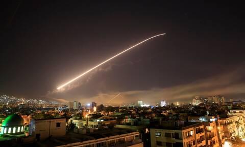 Αεροπορική επίθεση στη Δαμασκό