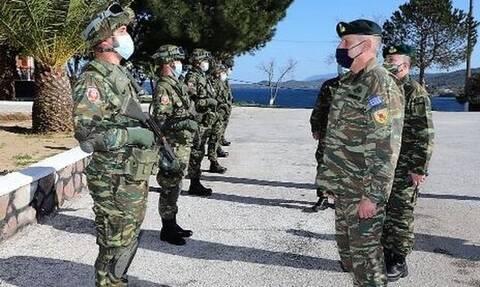 Μήνυμα Φλώρου από τη Μυτιλήνη: «Να είστε σε επαγρύπνηση» - Οι κατευθύνσεις του Αρχηγού ΓΕΕΘΑ