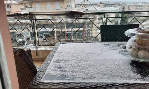 O καιρός… τρελάθηκε: Χιόνι και πολύ χαμηλές θερμοκρασίες σε Κοζάνη, Φλώρινα, Πτολεμαΐδα
