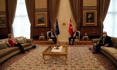 «Sofa gate»: Αυτός είναι ο σεβασμός των Τούρκων στις γυναίκες