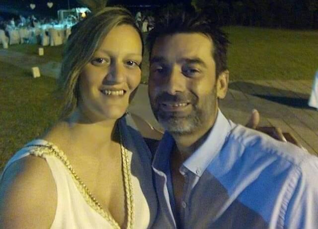 Η άτυχη 36χρονη με τον σύζυγό της
