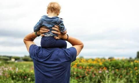 Πατέρας με παιδί