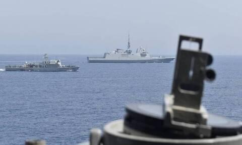 В Восточном Средиземноморье состоялись военные учения при участии Греции, Кипра и Франции