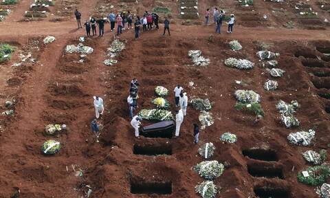Θρήνος στη Βραζιλία: Νέο μακάβριο ρεκόρ 4.249 θανάτων από κορονοϊό σε 24 ώρες
