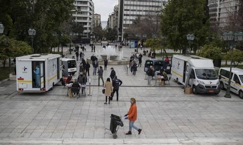 Κορονοϊός: Δωρεάν rapid test σήμερα Παρασκευή (9/4) σε 135 σημεία σε όλη την Ελλάδα