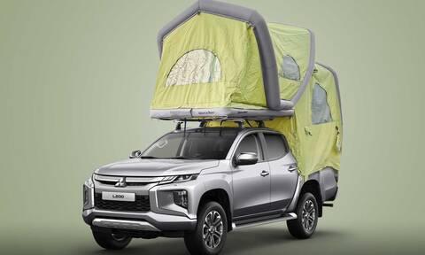 Το αγροτικό της Mitsubishi μετατρέπεται εύκολα σε αυτοκινούμενο