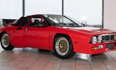 Πωλείται η Lancia 037 Prototype, η πρώτη που κατασκευάστηκε ποτέ