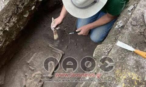 Βέροια: Βρέθηκε ανθρώπινος σκελετός 1.000 ετών σε φρεάτιο