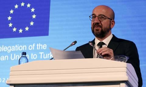 Σαρλ Μισέλ: Παράθυρο ευκαιρίας αν η Τουρκία σταματήσει τις μονομερείς ενέργειες