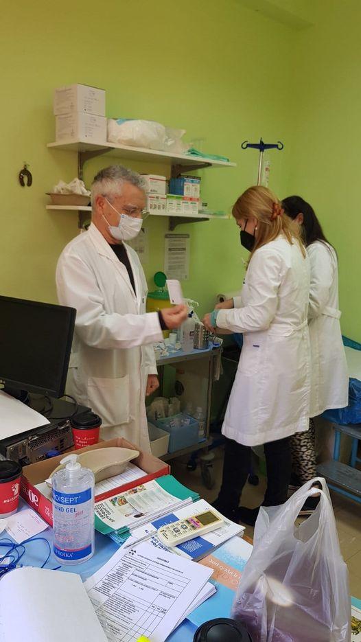 Εμβολιασμοί στο Κέντρο Υγείας Ιθάκης