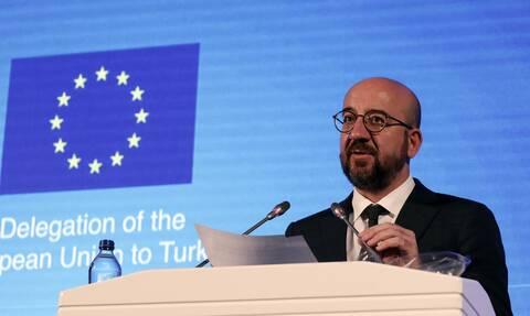Σαρλ Μισέλ: «Δύσκολο να προβλεφθεί η συμπεριφορά της Τουρκίας»