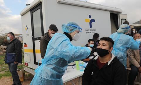 Κορονοϊός: Σε κατάσταση έκτακτης ανάγκης ο οικισμός Ρομά στο Νομισματοκοπείο
